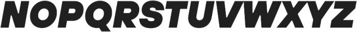 TT Hoves ExtraLight Italic otf (200) Font UPPERCASE