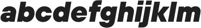 TT Hoves ExtraLight Italic otf (200) Font LOWERCASE