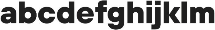 TT Hoves ExtraLight otf (200) Font LOWERCASE