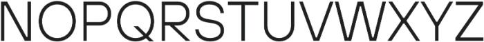 TT Hoves Hairline Italic otf (100) Font UPPERCASE