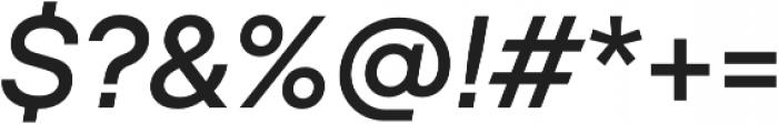 TT Hoves Light Italic otf (300) Font OTHER CHARS