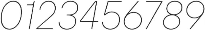 TT Hoves Medium Italic otf (500) Font OTHER CHARS