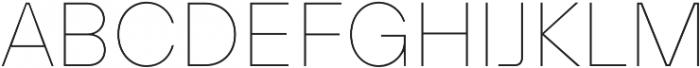TT Hoves Medium otf (500) Font UPPERCASE