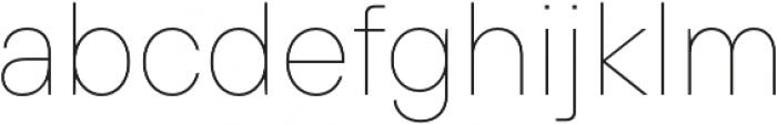 TT Hoves Medium otf (500) Font LOWERCASE