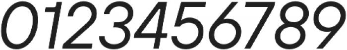 TT Hoves Thin Italic otf (100) Font OTHER CHARS