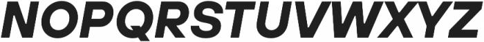 TT Hoves Thin otf (100) Font UPPERCASE