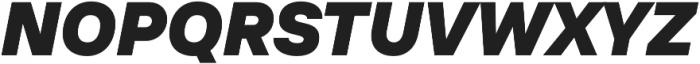 TT Interphases Black Italic otf (900) Font UPPERCASE