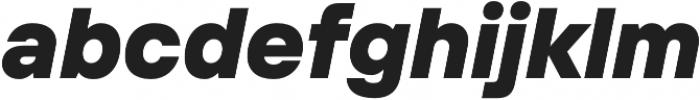 TT Interphases Black Italic otf (900) Font LOWERCASE