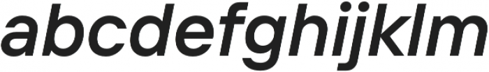 TT Interphases DemiBold Italic otf (600) Font LOWERCASE