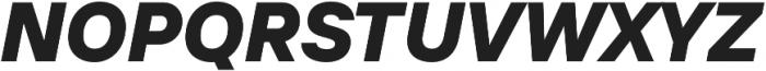 TT Interphases ExtraBold Italic otf (700) Font UPPERCASE