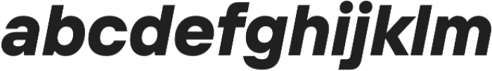 TT Interphases ExtraBold Italic otf (700) Font LOWERCASE