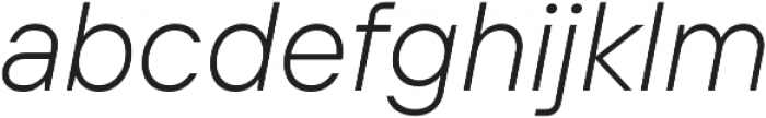 TT Interphases Light Italic otf (300) Font LOWERCASE