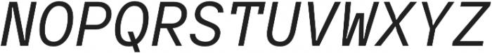 TT Interphases Mono otf (400) Font UPPERCASE