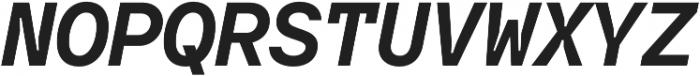 TT Interphases Mono otf (700) Font UPPERCASE
