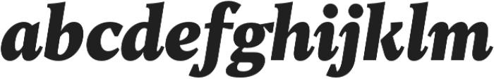 TT Jenevers Black Italic otf (900) Font LOWERCASE