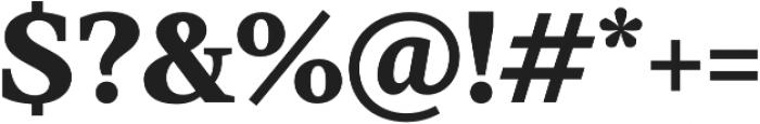 TT Jenevers ExtraBold otf (700) Font OTHER CHARS