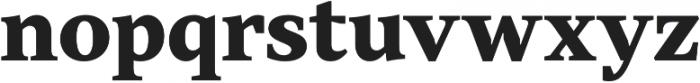 TT Jenevers ExtraBold otf (700) Font LOWERCASE