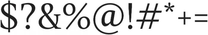 TT Jenevers Light otf (300) Font OTHER CHARS