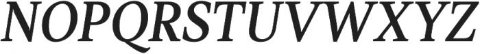 TT Jenevers Medium Italic otf (500) Font UPPERCASE