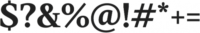 TT Jenevers otf (700) Font OTHER CHARS