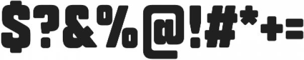 TT Lakes Compressed Black otf (900) Font OTHER CHARS