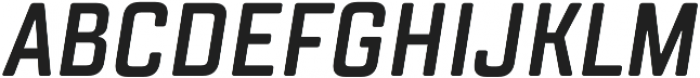 TT Lakes Compressed DemiBold Italic otf (600) Font UPPERCASE