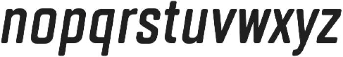 TT Lakes Compressed DemiBold Italic otf (600) Font LOWERCASE