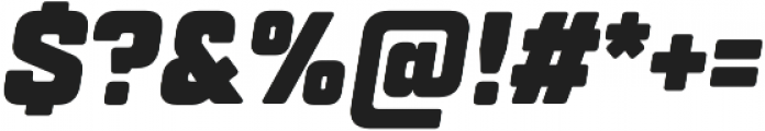 TT Lakes Condensed Black Italic otf (900) Font OTHER CHARS