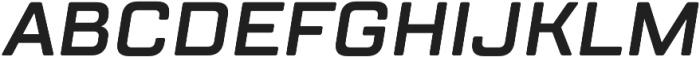 TT Lakes DemiBold Italic otf (600) Font UPPERCASE