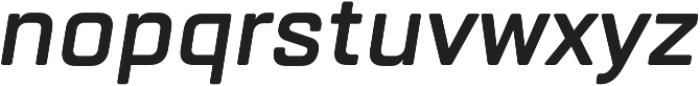 TT Lakes DemiBold Italic otf (600) Font LOWERCASE