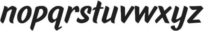 TT Marks ExtraBold otf (700) Font LOWERCASE