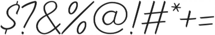 TT Marks Light otf (300) Font OTHER CHARS