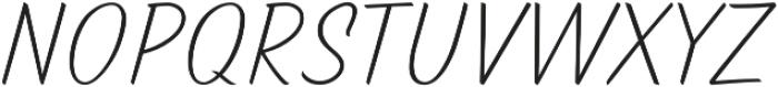 TT Marks Light otf (300) Font UPPERCASE
