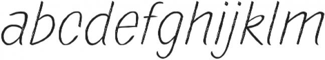 TT Marks Rough Light otf (300) Font LOWERCASE
