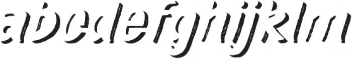 TT Marks Rough Shadow ExtraBold otf (700) Font LOWERCASE