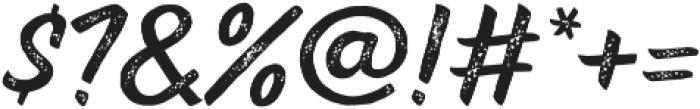 TT Marks Rough otf (700) Font OTHER CHARS
