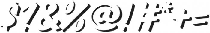 TT Marks Shadow ExtraBold otf (700) Font OTHER CHARS
