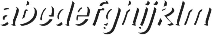 TT Marks Shadow ExtraBold otf (700) Font LOWERCASE