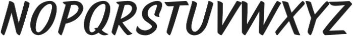 TT Marks otf (700) Font UPPERCASE