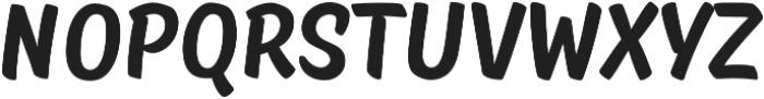 TT Masters otf (700) Font UPPERCASE