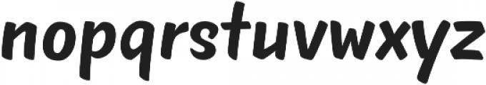 TT Masters otf (700) Font LOWERCASE