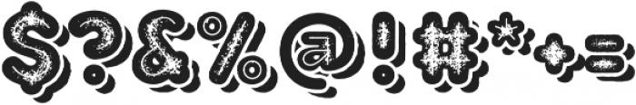 TT Milks Casual Shadow Inline otf (400) Font OTHER CHARS