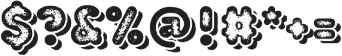 TT Milks Casual Shadow Three otf (400) Font OTHER CHARS