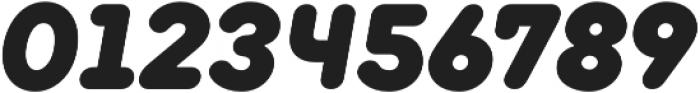 TT Milks ExtraBold Italic otf (700) Font OTHER CHARS