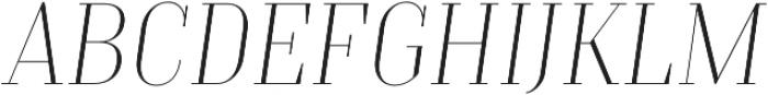 TT Moons Thin Italic otf (100) Font UPPERCASE