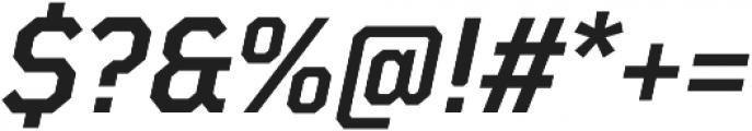 TT Mussels DemiBold Italic otf (600) Font OTHER CHARS