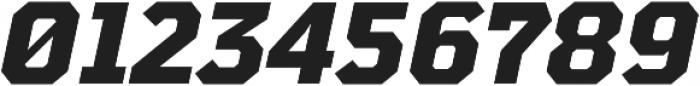 TT Mussels ExtraBold Italic otf (700) Font OTHER CHARS