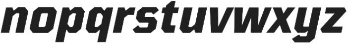 TT Mussels ExtraBold Italic otf (700) Font LOWERCASE
