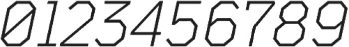 TT Mussels Light Italic otf (300) Font OTHER CHARS