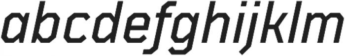TT Mussels Medium Italic otf (500) Font LOWERCASE
